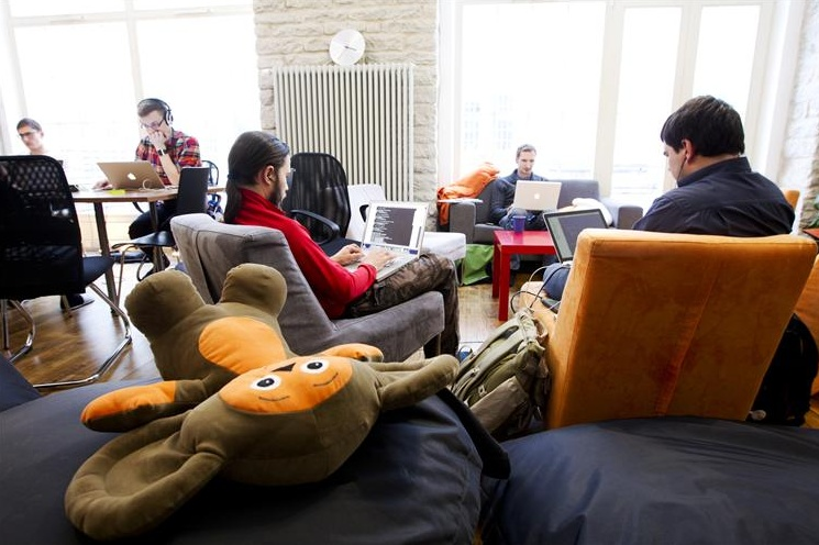 Garage48 HUB - coworking space and community center for the startup people. Photo by Raul Mee